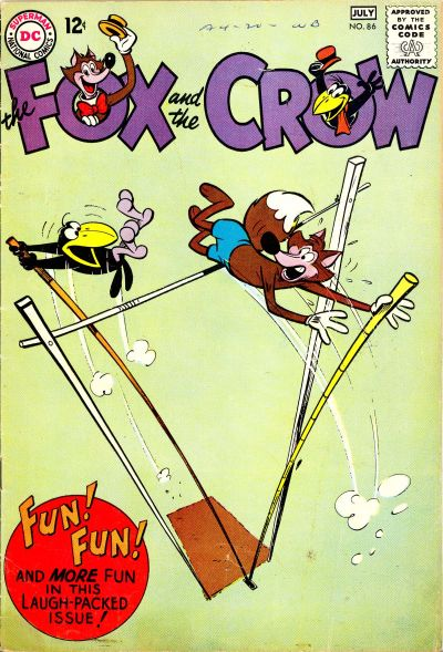 Cover for The Fox and the Crow (DC, 1951 series) #86
