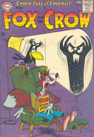 Cover for The Fox and the Crow (DC, 1951 series) #91