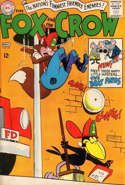 Cover for The Fox and the Crow (DC, 1951 series) #94