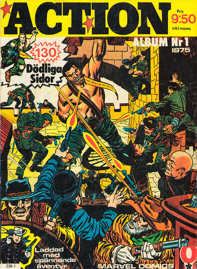 Cover for Action (Red Clown, 1975 series) #1