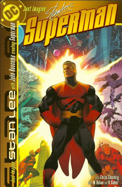 Cover for Just Imagine Stan Lee with John Buscema Creating Superman (DC, 2001 series)