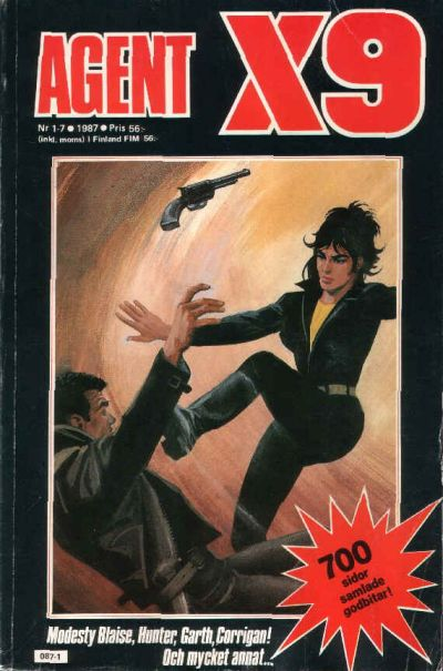 Cover for Agent X9 [årgång 1987] (Semic, 1988 series) #1-7/1987