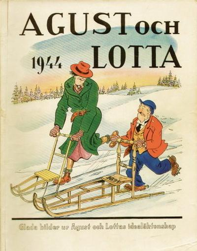 Cover for Agust [julalbum] (Åhlén & Åkerlunds, 1931 series) #1944