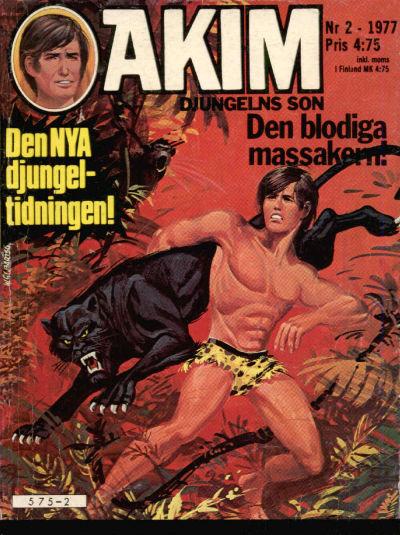 Cover for Akim (Semic, 1977 series) #2/1977
