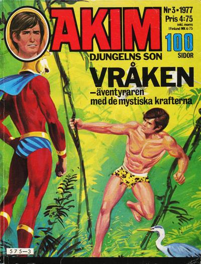 Cover for Akim (Semic, 1977 series) #3/1977