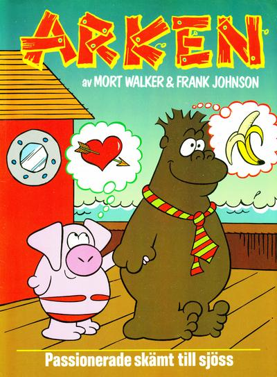 Cover for Arken (Semic, 1990 series) #[1]