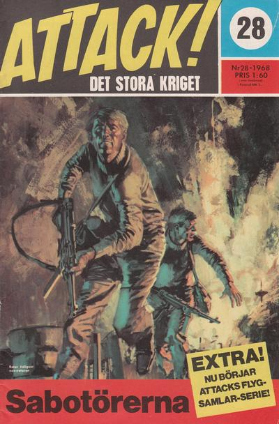 Cover for Attack (Semic, 1967 series) #28
