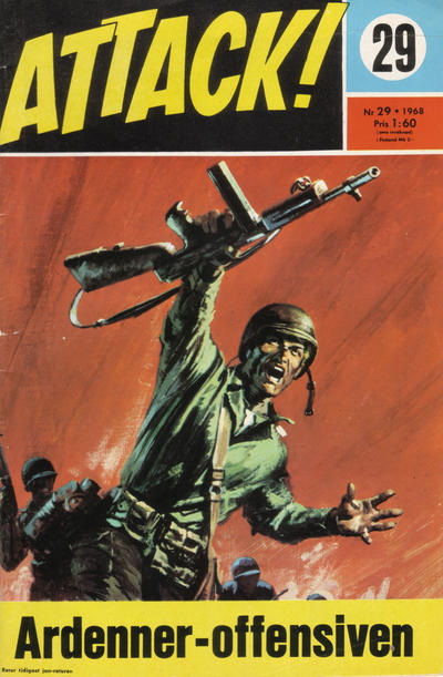 Cover for Attack (Semic, 1967 series) #29