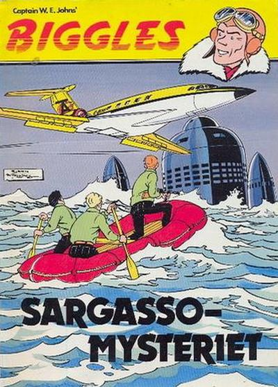 Cover for Biggles (Semic, 1977 series) #1 - Sargasso-mysteriet