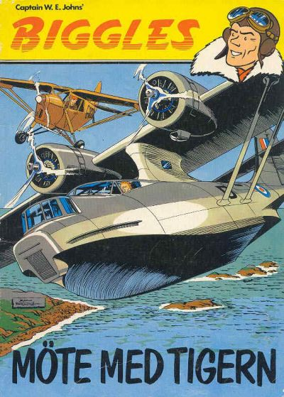 Cover for Biggles (Semic, 1977 series) #3 - Möte med Tigern