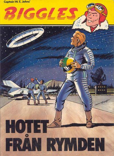 Cover for Biggles (Semic, 1977 series) #4 - Hotet från rymden