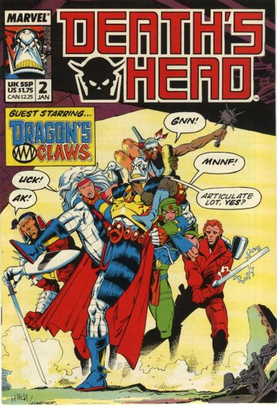 Cover for Death's Head (Marvel UK, 1988 series) #2