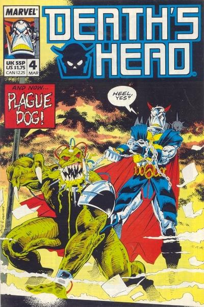 Cover for Death's Head (Marvel UK, 1988 series) #4