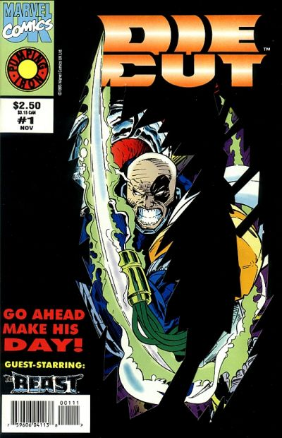 Cover for Die-Cut (Marvel, 1993 series) #1
