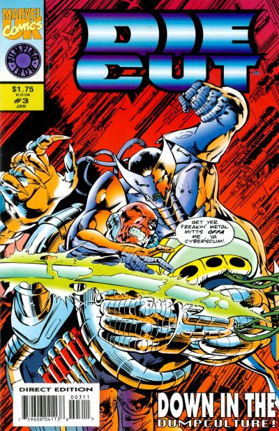 Cover for Die-Cut (Marvel, 1993 series) #3