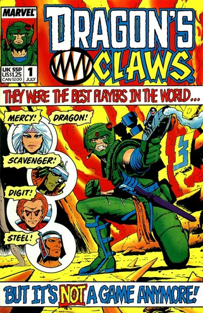 Cover for Dragon's Claws (Marvel, 1988 series) #1