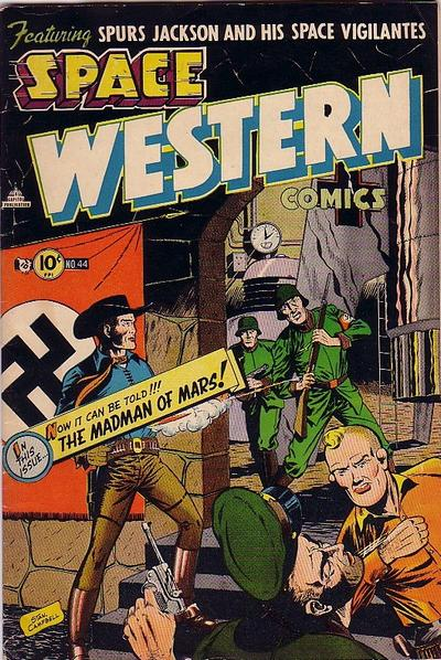 Cover for Space Western (Charlton, 1952 series) #44