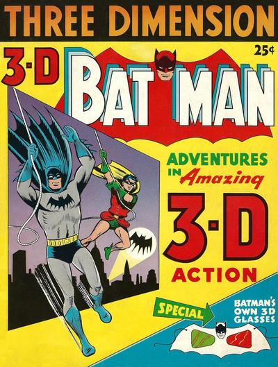Cover for 3-D Batman (DC, 1953 series) #1
