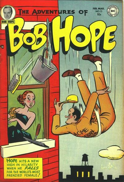 Cover for The Adventures of Bob Hope (DC, 1950 series) #13