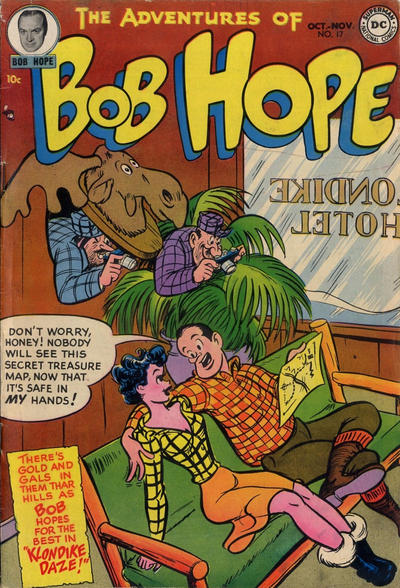 Cover for The Adventures of Bob Hope (DC, 1950 series) #17