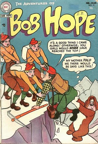 Cover for The Adventures of Bob Hope (DC, 1950 series) #31