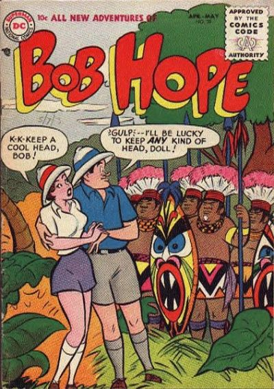 Cover for The Adventures of Bob Hope (DC, 1950 series) #38
