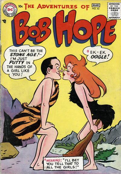 Cover for The Adventures of Bob Hope (DC, 1950 series) #43