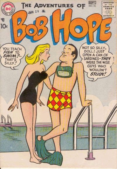 Cover for The Adventures of Bob Hope (DC, 1950 series) #46