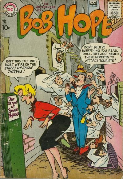 Cover for The Adventures of Bob Hope (DC, 1950 series) #48