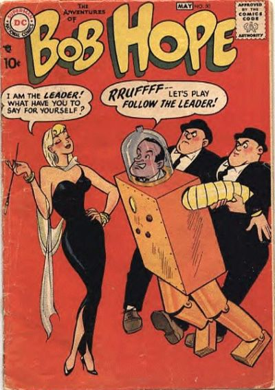 Cover for The Adventures of Bob Hope (DC, 1950 series) #50