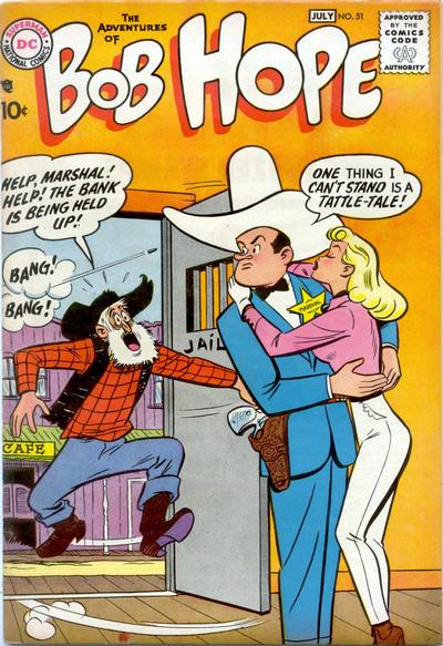 Cover for The Adventures of Bob Hope (DC, 1950 series) #51
