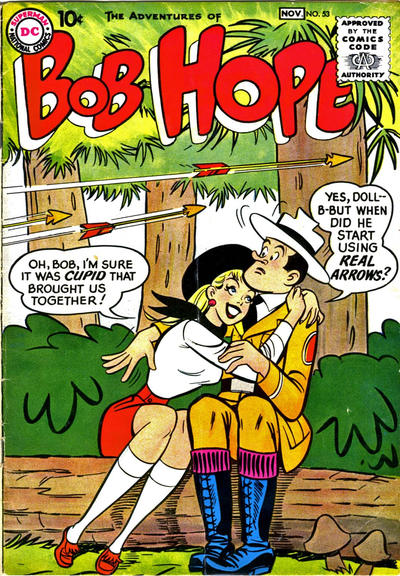 Cover for The Adventures of Bob Hope (DC, 1950 series) #53