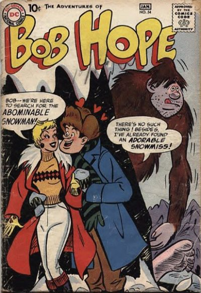 Cover for The Adventures of Bob Hope (DC, 1950 series) #54