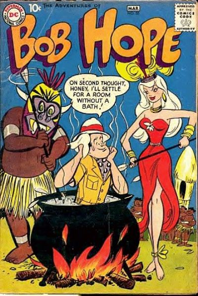 Cover for The Adventures of Bob Hope (DC, 1950 series) #55
