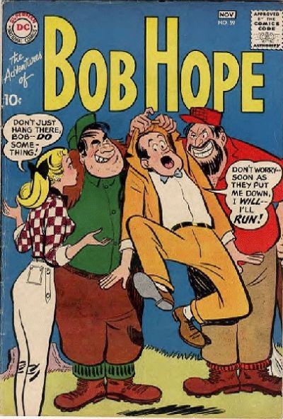 Cover for The Adventures of Bob Hope (DC, 1950 series) #59