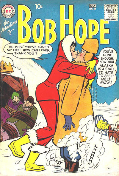 Cover for The Adventures of Bob Hope (DC, 1950 series) #63