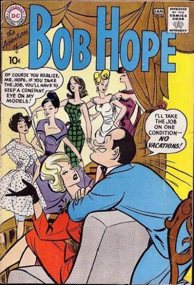 Cover for The Adventures of Bob Hope (DC, 1950 series) #66