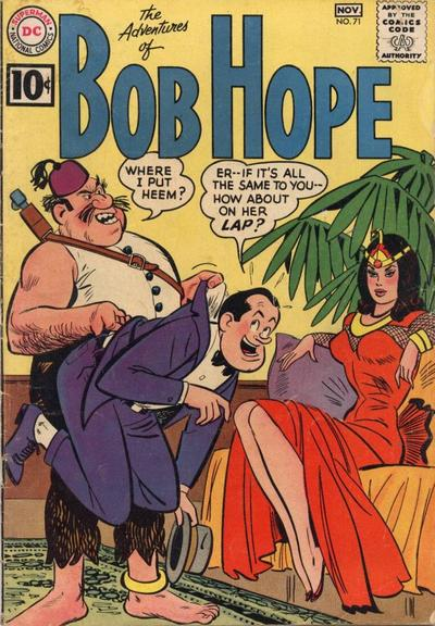 Cover for The Adventures of Bob Hope (DC, 1950 series) #71