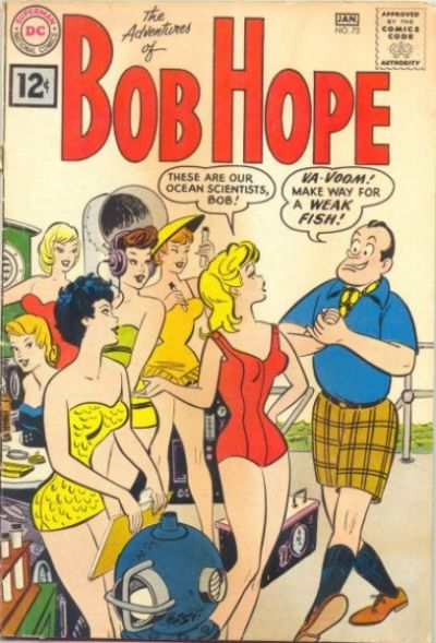 Cover for The Adventures of Bob Hope (DC, 1950 series) #72