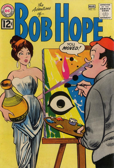 Cover for The Adventures of Bob Hope (DC, 1950 series) #73