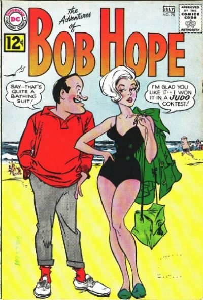 Cover for The Adventures of Bob Hope (DC, 1950 series) #75