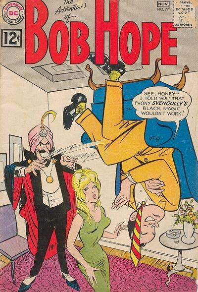 Cover for The Adventures of Bob Hope (DC, 1950 series) #77