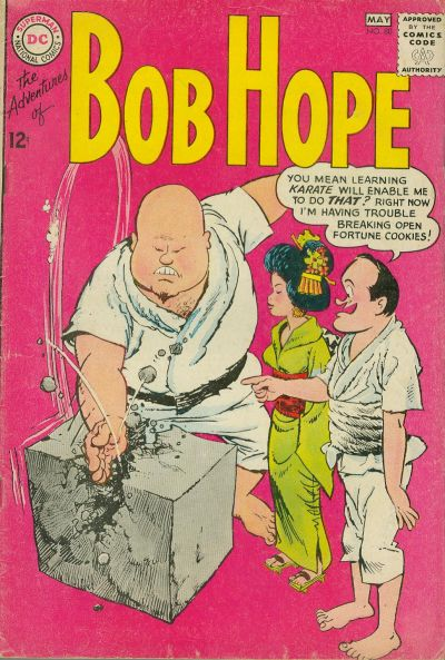 Cover for The Adventures of Bob Hope (DC, 1950 series) #80