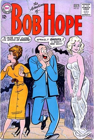 Cover for The Adventures of Bob Hope (DC, 1950 series) #81