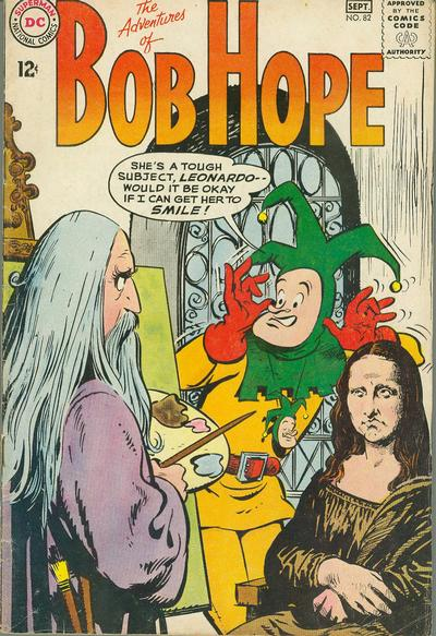 Cover for The Adventures of Bob Hope (DC, 1950 series) #82