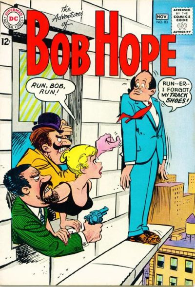 Cover for The Adventures of Bob Hope (DC, 1950 series) #83