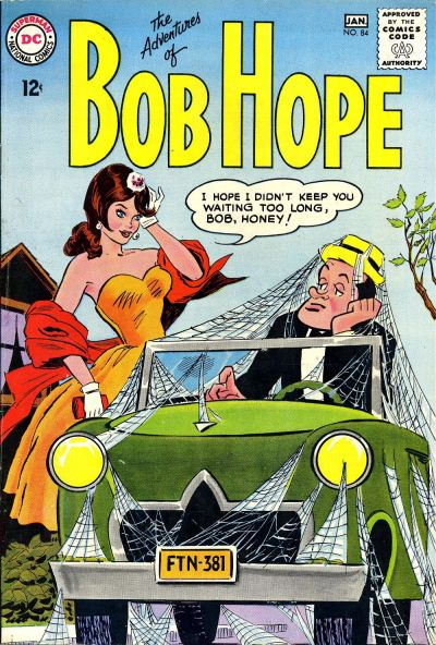 Cover for The Adventures of Bob Hope (DC, 1950 series) #84