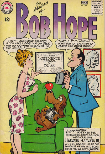 Cover for The Adventures of Bob Hope (DC, 1950 series) #86