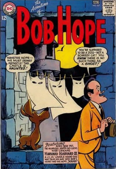 Cover for The Adventures of Bob Hope (DC, 1950 series) #87