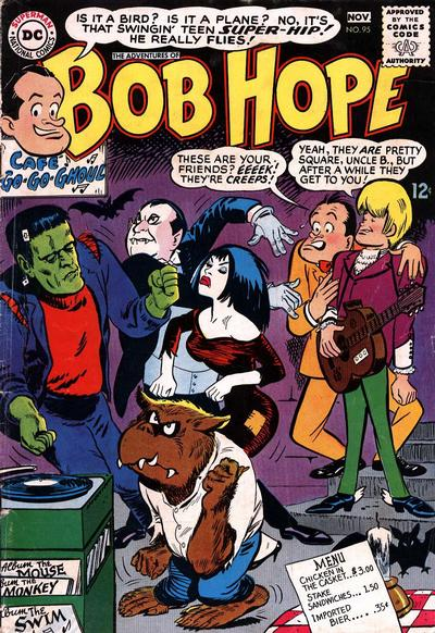 Cover for The Adventures of Bob Hope (DC, 1950 series) #95